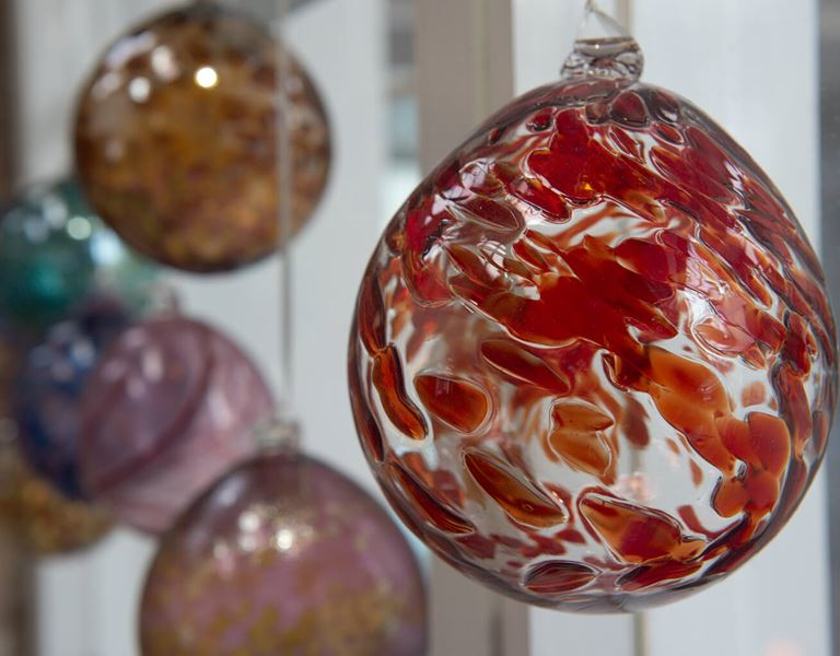 decorative glass hangings